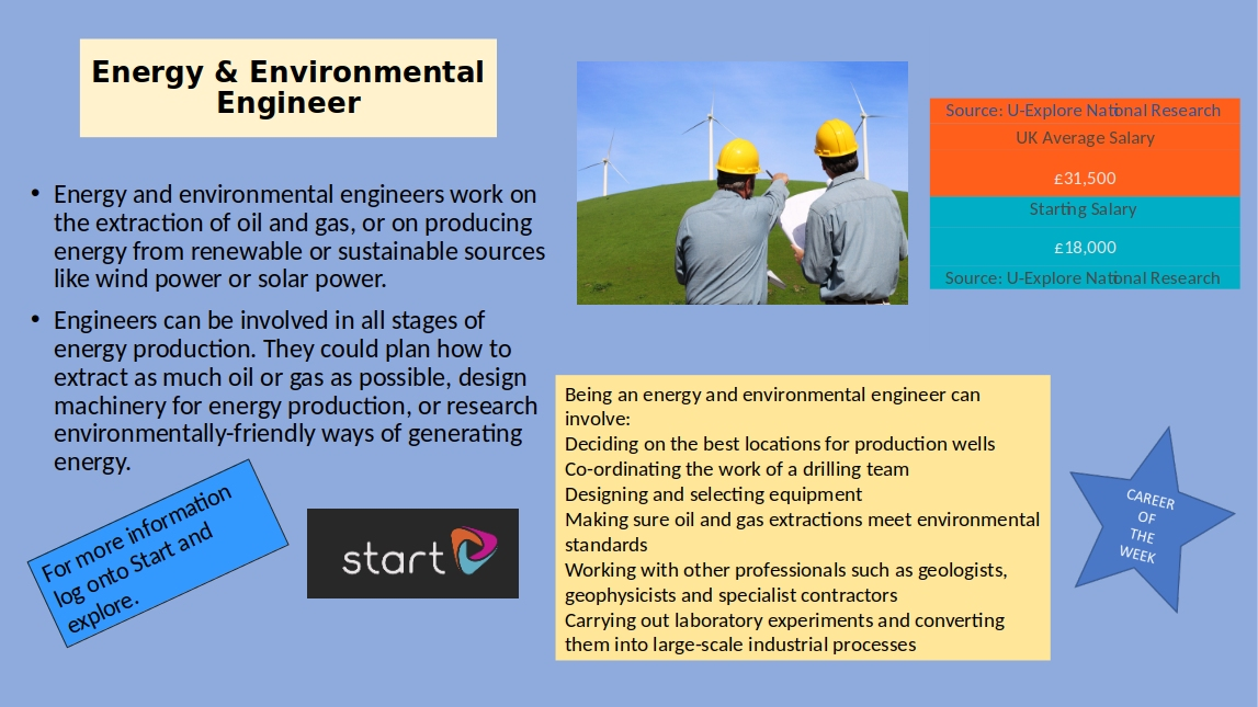 Energy & Environmental Engineer